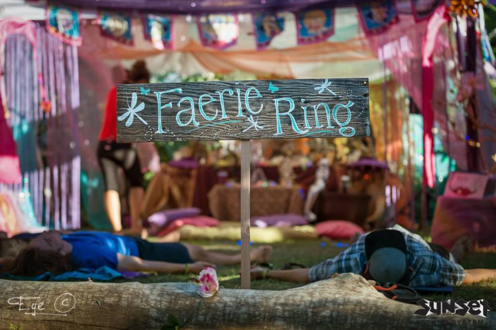 Sunset Campout Faerie Ring