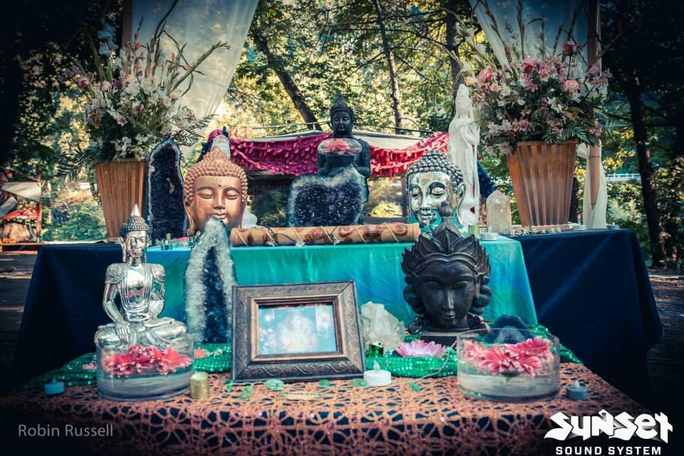 Sunset Campout Main Altar 2015